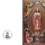Kartka z Chrystusem Najwyższym Kapłanem
