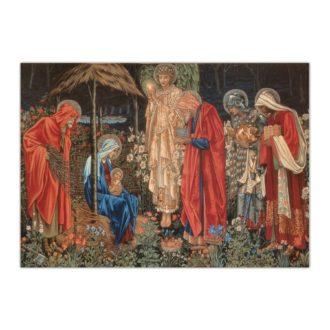 Kartka bożonarodzeniowa – Edward Burne-Jones, Gwiazda Betlejemska (Tapiseria), 1890
