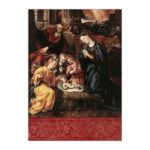 Kartka bożonarodzeniowa – Marten de Vos, Narodzenie, 1577